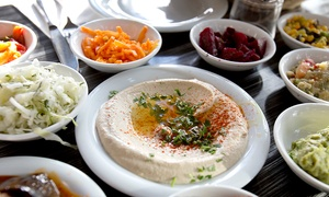 Kosmos Taverna: Kosmos Taverna: £9 for £23 Towards Greek Food and Drinks For Two (Up to 61% Off)