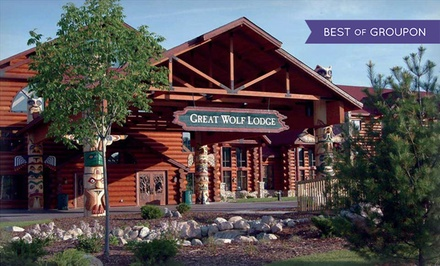Groupon Deal: Stay with Daily Water Park Passes and Resort Credit at Great Wolf Lodge Traverse City in Michigan. Dates into March.