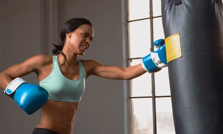 10 Boxing or Kickboxing Classes, or 10 Brazilian Jiu Jitsu Classes at Easton Training Center (Up to 91% Off)