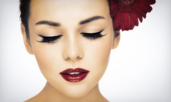 Makeup Muse - West Centre Town - Little Italy - Civic Hospital East: Full Set of Eyelash Extensions with Touch-Up or $10 for $20 Worth of Makeup, Skincare, and Nail Products at Makeup Muse
