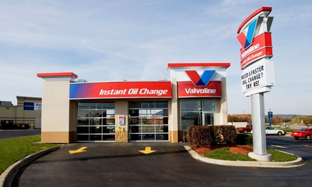 Conventional, Synthetic-Blend, or Full Synthetic Oil Change at Valvoline Instant Oil Change (Up to 39% Off)