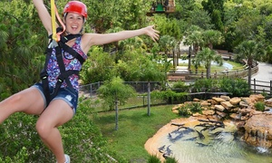 Gatorland: Zip Line Ride and Gatorland Visit for One, Two, or Four (Up to 50% Off)