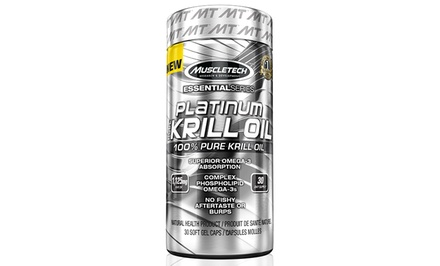 MuscleTech MT Extra Strength Krill Oil (30 count)