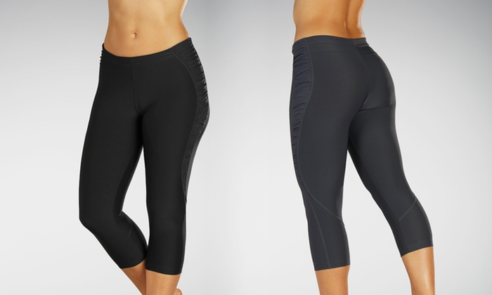 Marika Ruched Capri Leggings: $17.99 for Marika Ruched Capri Leggings ($50 List Price). Free Shipping and Returns.