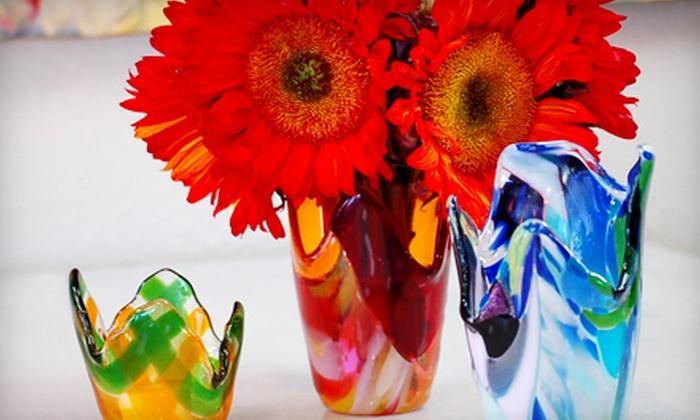 Glass Illusions Studio - Ward 2: Fused-Glass Class for One, Two, or Four at Glass Illusions Studio (Up to 60% Off)