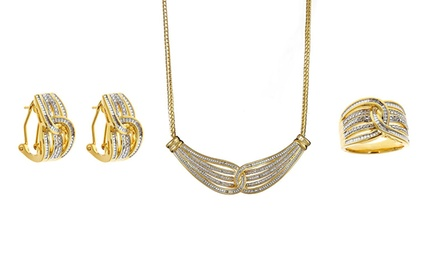 1/2 CTTW 3-Piece Diamond Jewelry Set