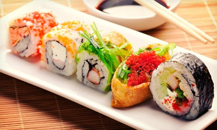 Rocking Tanuki - Linda Vista: $10 for $20 or $18 for $30 Worth of Sushi and Japanese Cuisine at Rocking Tanuki