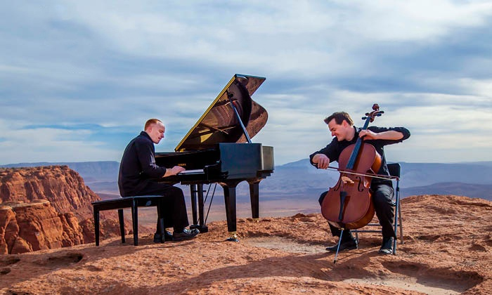ThePianoGuys - Old National Events Plaza: ThePianoGuys on Friday, December 4, at 8 p.m.