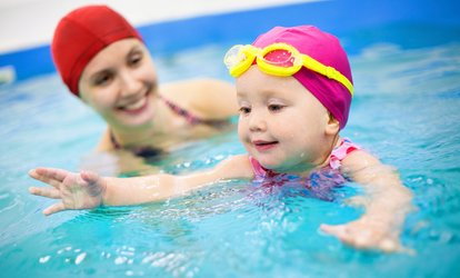 Six or Nine Private Swim Lessons from K.I.S.S. Aquatics (Up to 41% Off)
