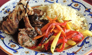Efendi's Mediterranean Cafe: $12 for $24 Worth of Mediterranean Dinner for Two at Efendi's Mediterranean Cafe