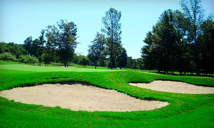 Crystal Lake Golf Club - Benzonia: 18-Hole Round of Golf for Two or Four Including Cart Rental at Crystal Lake Golf Club (Up to 52% Off)