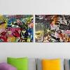 "18""x24"" Dan Monteavaro Collage Art Prints"