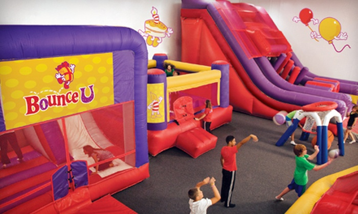 BounceU - Gilbert Town Square: $19.99 for Five Open-Bounce Visits to BounceU ($44.75 Value)
