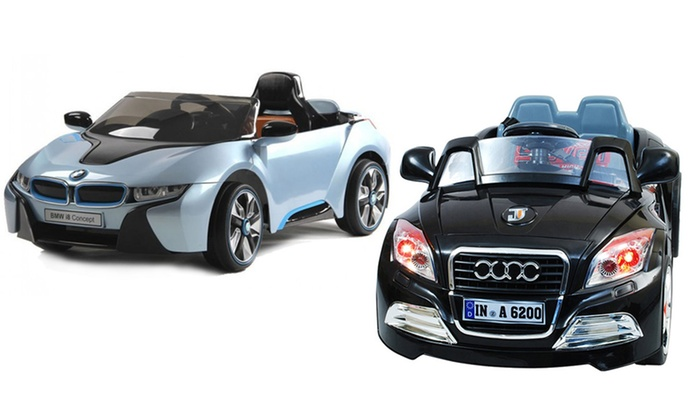 Kids Electric Ride On Cars Groupon Goods