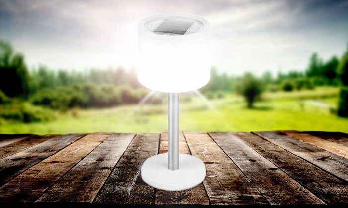 2 in 1 solar led lampe groupon goods. Black Bedroom Furniture Sets. Home Design Ideas