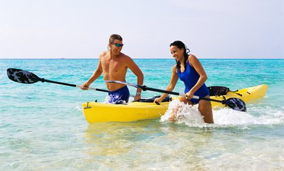Two-Hour Single- or Double-Kayak Rental from Huntington Harbor Boat Rentals (54% Off)