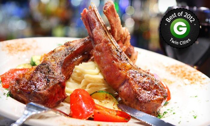 Santorini Taverna and Grill - Eden Prairie: $15 for $30 Worth of Greek Cuisine at Santorini Taverna and Grill
