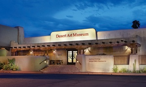 Tucson Desert Art Museum: Admission or Membership to Tucson Desert Art Museum (Up to 50% Off). Four Options Available.