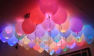 Pack of 20 LED Light-Up Balloons