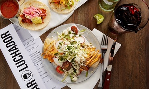 Bar Luchador: Contemporary Mexican Food at Bar Luchador (Up to 47% Off). Two Options Available.