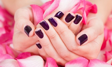 Manicure and Pedicure at Noire Nail Salon & Spa (Up to 40% Off).