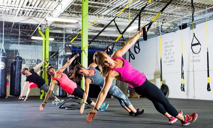 CoreStrong - Covington: Three or Nine Group Personal-Training Classes at CoreStrong (Up to 64% Off)
