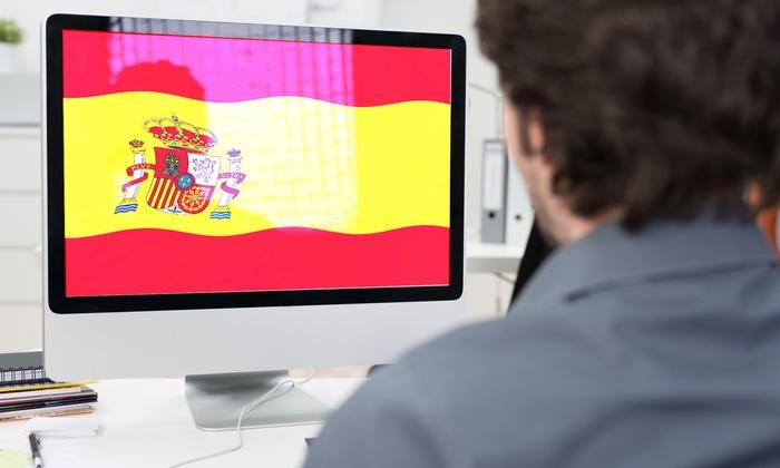 Ermes srl: Fino a 9 mesi di corso online di spagnolo DeALearning da 19 €