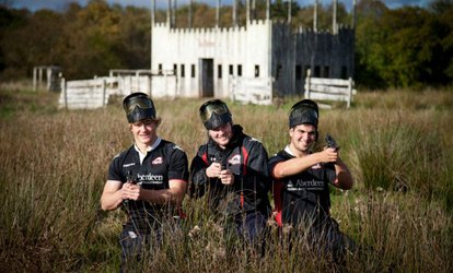 Paintball for Up to 30 People at Bedlam Paintball, Nationwide Locations (Up to 90% Off)