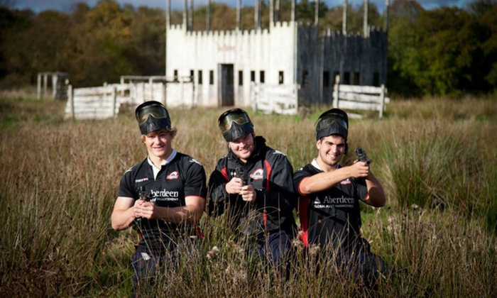 Bedlam Paintball - Multiple Locations: Paintball for Up to 30 People at Bedlam Paintball, Nationwide Locations (Up to 90% Off)