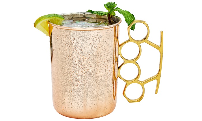Brass Knuckle Moscow Mule Mugs Groupon Goods