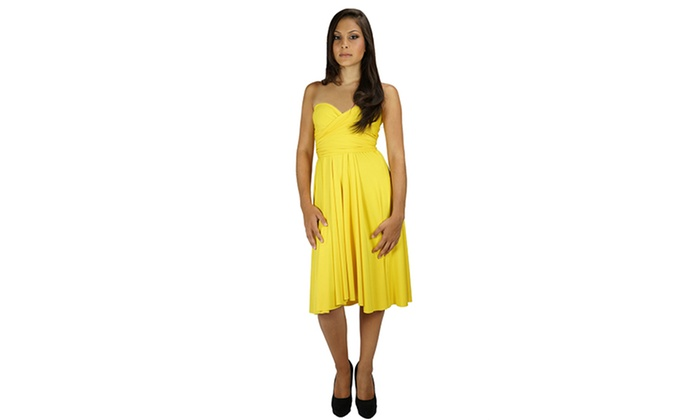 Multiway maxi dress groupon malaysia