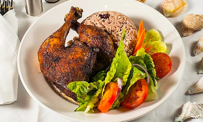 Caribbean Spoon Restaurant - Waterfront Park - North Vancouver: Caribbean Meal for 1 or 2 from Caribbean Spoon Restaurant, Valid During Caribbean Festival, July 23–24 (32% Off)