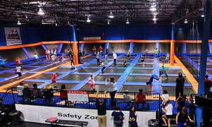 Sky Zone: Two 60-Minute Jumps or Party for Up to 10 at Sky Zone (Up to 50% Off). Four Options Available.