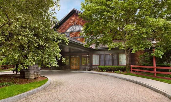 Stonehedge Inn & Spa - Tyngsborough: Two-Night Stay at Stonehedge Inn & Spa in Tyngsboro, MA
