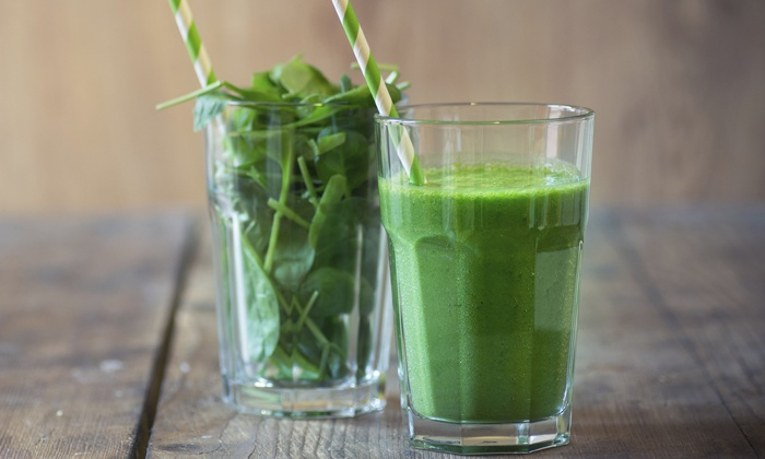 Move With Grace Yoga, Pilates, and Juice Bar - Clinton Hill: Juices, Smoothies, or Shakes at Move With Grace (40% Off)
