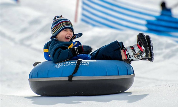 Snowbasin - Ogden Valley: Snow Tubing and a Gondola Ride for Two or Four at Snowbasin (Up to 59% Off)
