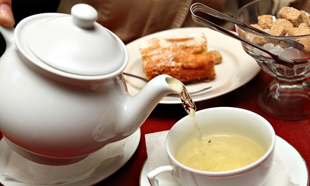 $27.50 for Tea Time for Two at Ruelo Patisserie ($51.98 Value)
