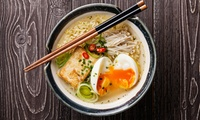 Three-Course Japanese Meal for Two or Four at KuRaudo Sushi & Bento (Up to 45% Off)