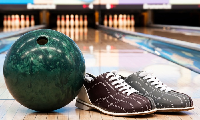 Slocum's Bowling Center - Ewing: Two Games of Bowling for Two, Four, or Six with Shoes, Apps, and Drinks at Slocum's Bowling Center (64% Off)