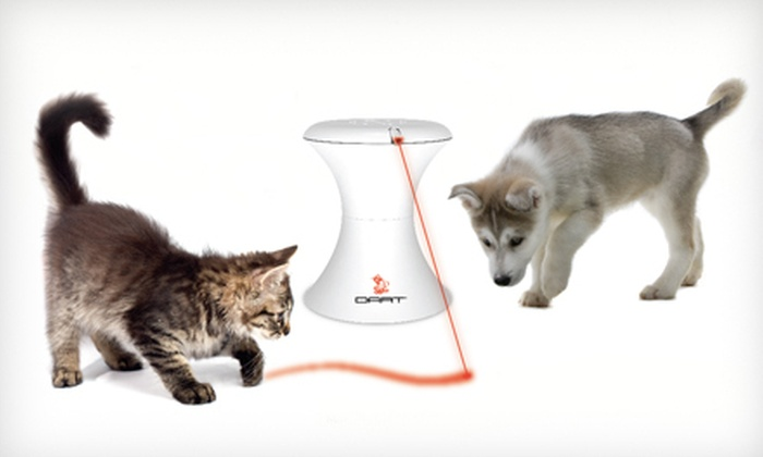 FroliCat Dart Rotating Laser Light: $21 for a FroliCat Dart Rotating Laser Light ($39.95 List Price). Free Shipping and Free Returns.