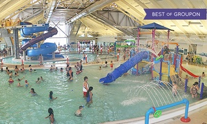 City of Newark Silliman Activity & Family Aquatic Center: One-Day Pass for Two Adults and Two or Four Kids at Silliman Activity and Family Aquatic Center (50% Off)