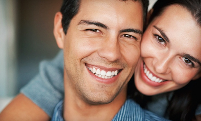 Dr. Azimi DDS - Downtown: Dental Exam, Cleaning, and X-rays or Zoom! Teeth-Whitening Treatment from Dr. Azimi DDS (Up to 89% Off)