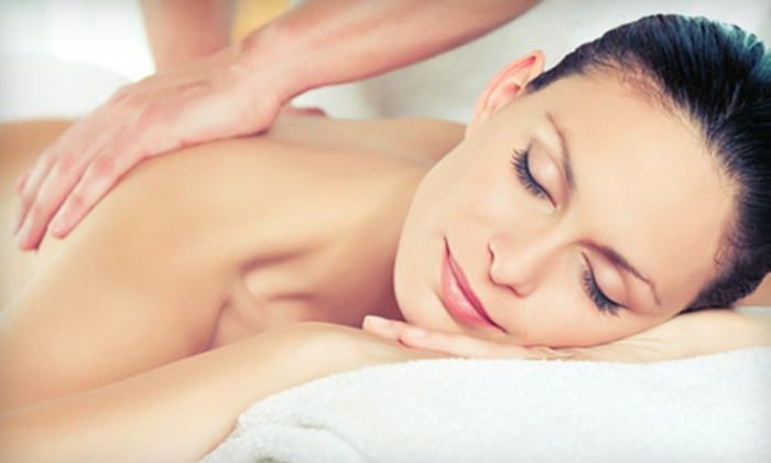 Canyon Falls Spa & Salon - Multiple Locations: 55-Minute Facial with Classic Mani-Pedi or 60-Minute Swedish Massage at Canyon Falls Spa & Salon (Up to 56% Off)