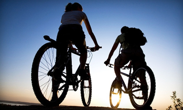 Alki Bike and Board - North Admiral: Two-Hour Eco-Bike-Tour Package with a Standard or Electric Bike for One or Two from Alki Bike and Board (Up to 58% Off)