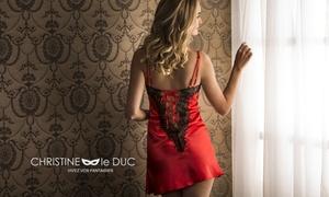 Christine le Duc: Bon d'achat de 50 € au prix de 19 € valable sur tout le site Christine le Duc