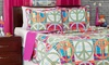 2- or 3-Piece Peace Sign Quilt Sets