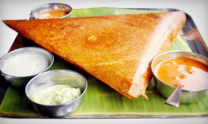 Mylapore - Folsom: Vegetarian South Indian Cuisine at Mylapore (Half Off). Two Options Available.