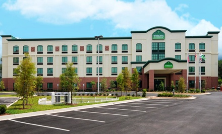 groupon daily deal - Stay at Wingate By Wyndham Mobile I-10 Bellingrath Gardens in Mobile, AL; Dates into March Available