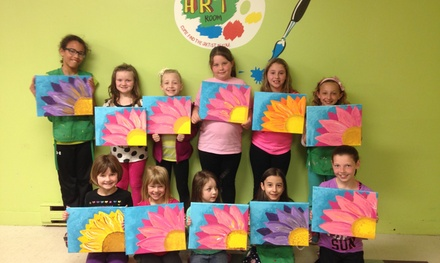Three Days of Art Camp at The Art Room (45% Off)