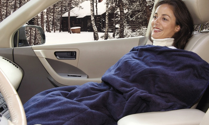 Car Cozy Heated Travel-Blanket 2-Pack: Car Cozy Heated Travel-Blanket 2-Pack. Free Returns.